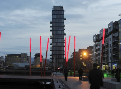 The Alte Vetro building at Grand Canal Dock is one of Dublin's best-known NAMA properties.