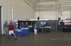 WATCH: Former college QB sets paper airplane record