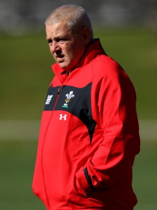 Wales coach Warren Gatland (file photo).