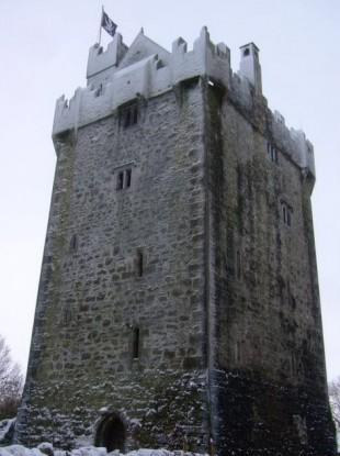 Caherkinmonwee Castle in Galway