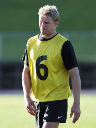 Lewis Moody: won a World Cup medal in 2003.