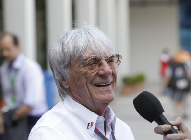 Bernie Ecclestone didn't do himself any favours with last week's interview.