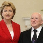 President McAleese takes office in November 1998 and serves two terms. Michael D Higgins is elected to the presidency in October 2011. (Niall Carson/PA Wire)