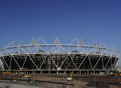 Olympic Park in London.