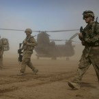 The US invades Afghanistan with support from allies including the UK. (AP Photo/Hoshang Hashimi/PA Images)