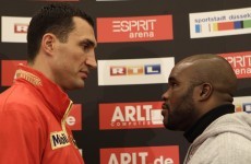 Can't touch this: Klitschko wants to finish Mormeck quickly