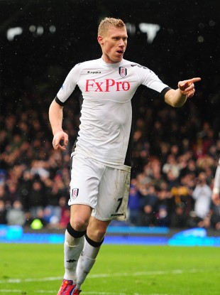 Pavel Pogrebnyak has found his scoring touch at Fulham.