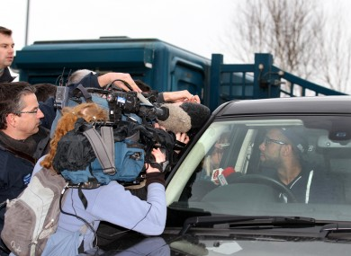 Rangers' Kyle Bartley speaks to the press about the club's plight.