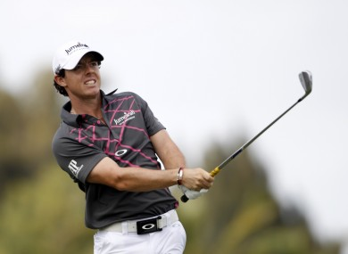 Rory McIlroy is no longer world number one.