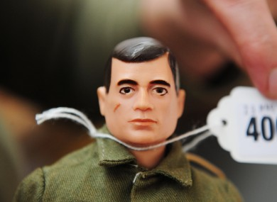 This GI Joe action figure from 1964 is predicted to fetch up to €5,000 at a sale on 29 March.