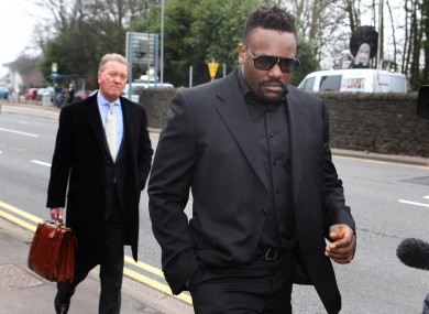 Chisora was banned indefinitely last month, after his brawl with Haye.