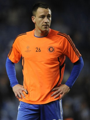 Terry is still recovering from an injury he suffered against Napoli.