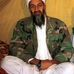 Former al-Qaida leader Osama bin Laden is killed in Pakistan during a raid by US Navy SEALs on his compound. (AP Photo/PA Images)