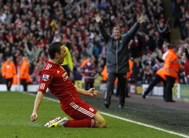 Stewart Downing scored the winner.
