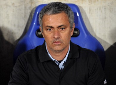 Jose Mourinho: on course for La Liga title.