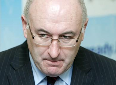 Minister Phil Hogan halted planning inquiries, Eamon Ryan said