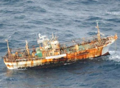 The fishing boat drifting 278km from the Canadian coast