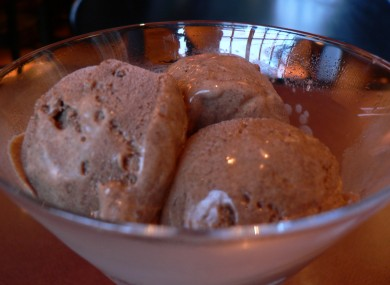 Chocolate ice cream: like heroin, basically.