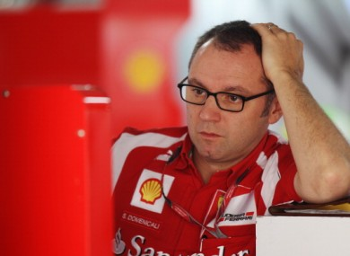 Stefano Domenicali : work to be done.