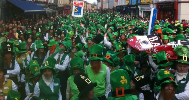 This is what a record-breaking 1,263 leprechauns look like