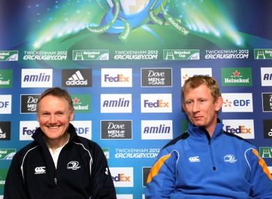Joe Schmidt and Leo Cullen know how daunting a semi-final at Twickenham would be