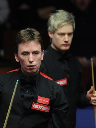 Doherty was outclassed by Robertson at the Crucible