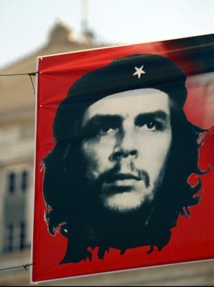 A Che Guevara flag