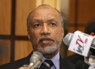 Bin Hammam received the ban last July.