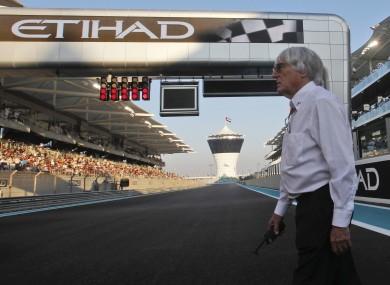 Bernie Ecclestone: ask the teams.