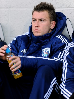 Simon Cox: on the bench.