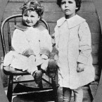 Mystery children for a while - Titanic survivors Lolo and Momon Navratil. (Topham/Topham Picturepoint/PA Images)