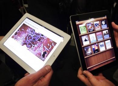 Apple's iBooks app (File photo)