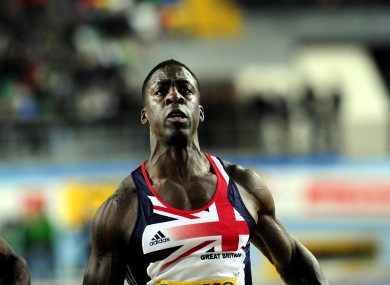 Athletes such as Dwain Chambers are set to have their lifetime bans overturned.