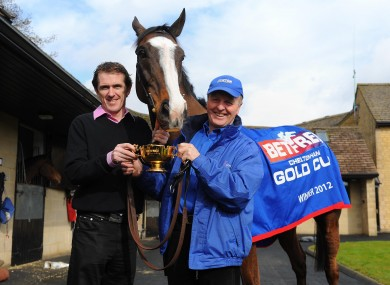 Gold Cup winning team hope to repeat their Cheltenham success at Aintree. succ