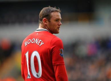 Wayne Rooney: eyeing Old Trafford record.