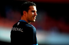 Bring on City: Van Persie relishing Arsenal's tough run-in