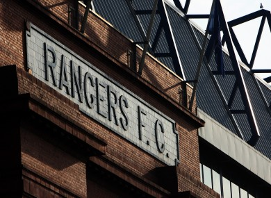 Troubled Glasgow club could still be saved.