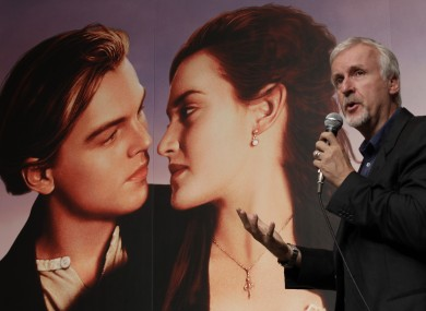 Titanic director James Cameron made up the story of Jack and Rose - but not the sinking of the ship...