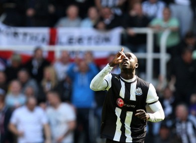 Papiss Cisse knows which direction he wants Newcastle United to go