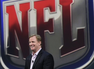 NFL Commissioner Roger Goodell will oversee the 2012 NFL Draft.