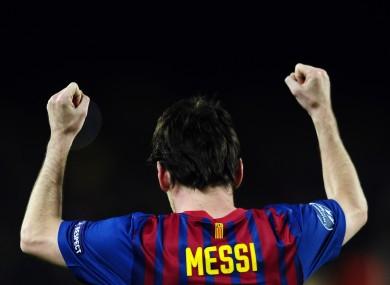 Leo Messi: record breaker.