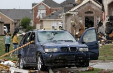 In pictures: Texans assess tornado damage after spate of storms