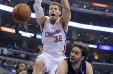 VIDEO: Blake Griffin dunked on Pau Gasol's entire family tree…twice!