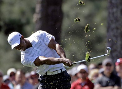 Woods has had a disappointing time so far at Augusta.