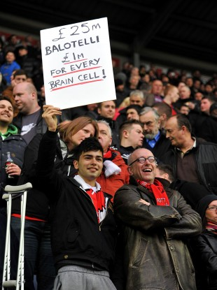 United fans took some time to realise: the joke was on them against Wigan.