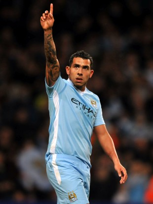 Carlos Tevez scored his first Premier League goal of the season in midweek.