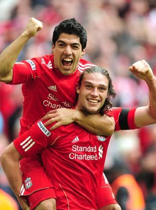 Liverpool's scorers