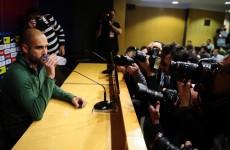 LIVE: Pep Guardiola's Camp Nou announcement