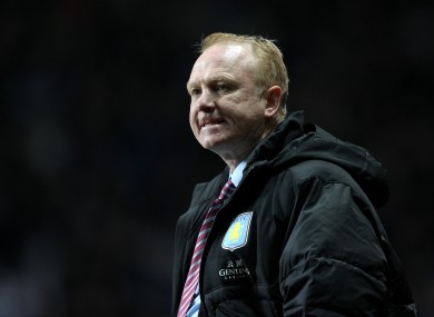 Alex McLeish: feeling the pressure.
