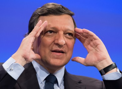 Barroso has called for an improvemt in Ukraine's human rights record.